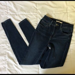 Authentic Levi's 720 high waist jean